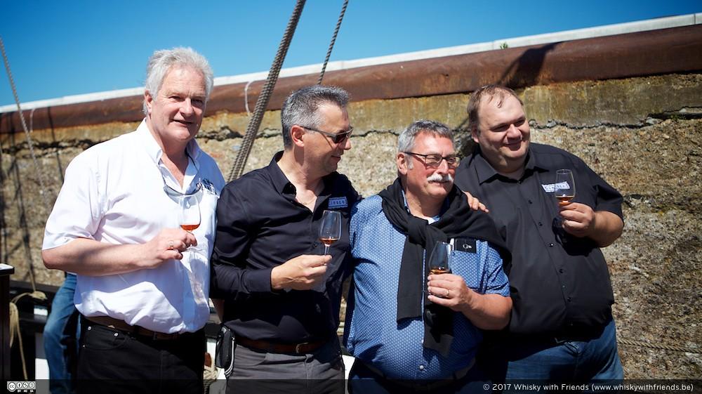 Een masterclass op zee met Richard Crampin, Stephan De Bolle en Chris Lauriers ... zelfs Bob Minnekeer was loved!