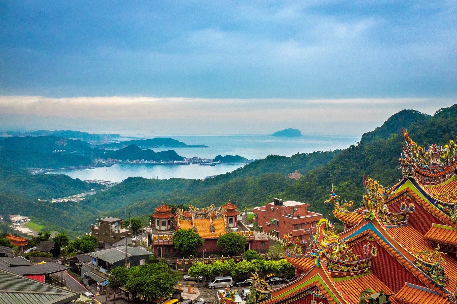Vistas de la costa norte, uno de los principales puntos de interés del turismo en Taiwán