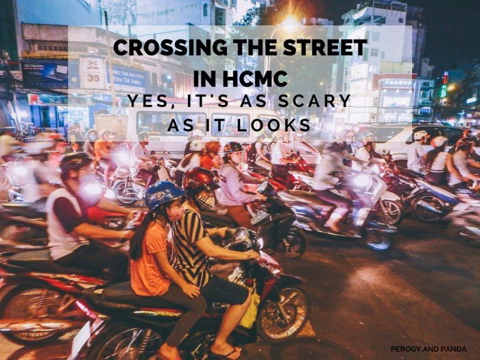 Crossing The Street In HCMC: Yes, It's As Scary As It Looks