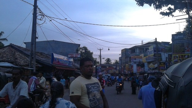 City Center of Weligama