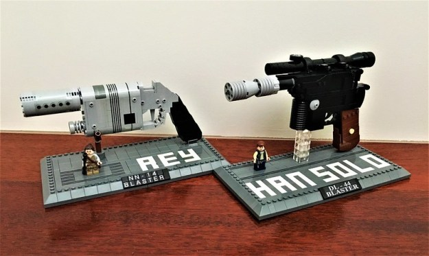 Rey & Han Solo Blasters