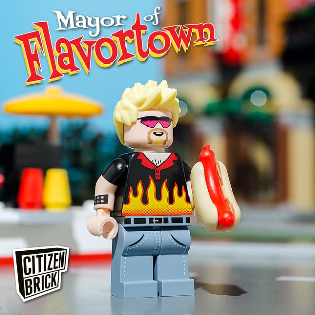Welcome to Flavortown – population: this guy.
