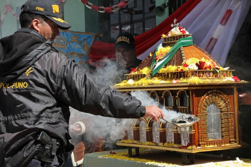 Visita de las reliquias de Santa Rosa a Ayaviri (08 de junio de 2017)