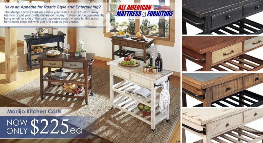 Marlijo Kitchen Cart Special_2017_ D300-266-466-566-766