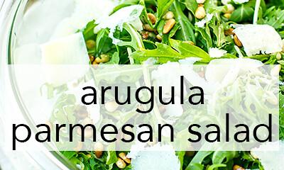 arugula salad-sidebar