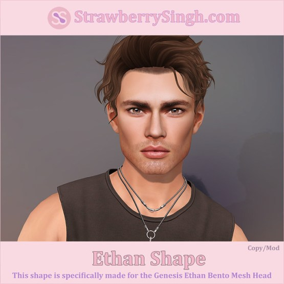 StrawberrySingh.com Ethan Shape