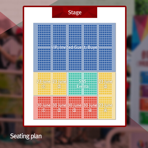 KBEE 2017 Day One Seating Plan