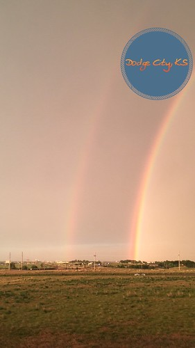 Double rainbow after the storm.