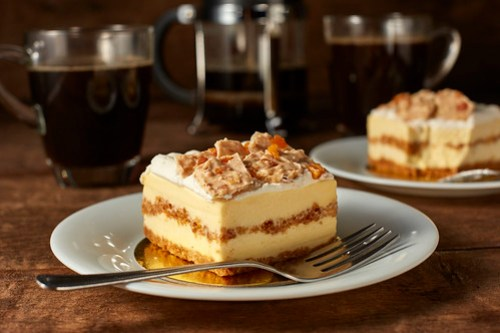 Starbucks Mango Crunch Cake