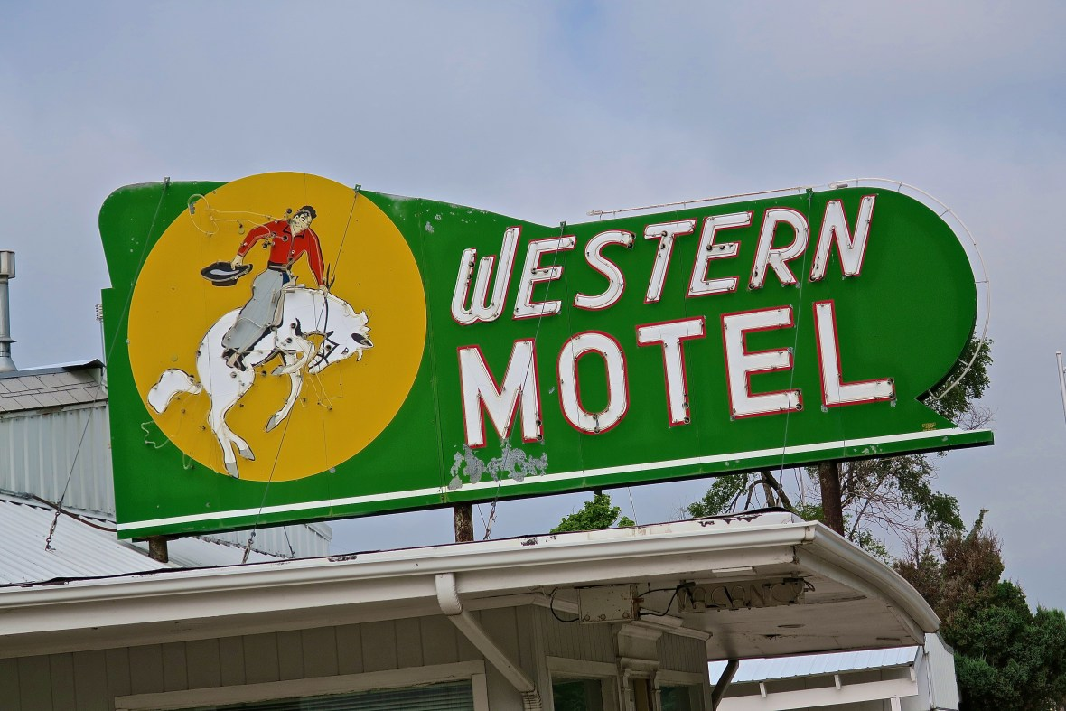 Western Motel - 706 West Rodeo Road Avenue, North Platte, Nebraska U.S.A. - July 4, 2016