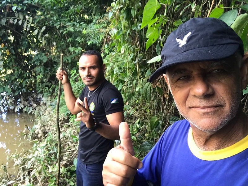 Fotos mostram piloto santareno que caiu na floresta antes de morrer no resgate, Peninha, piloto de avião