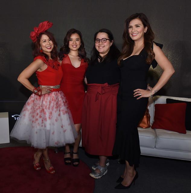 Boost Ambassador Tessa Prieto-Valdez and her daughter Annika with Coco Quizon and mom, ZsaZsa Padilla, also a Boost brand Ambassador