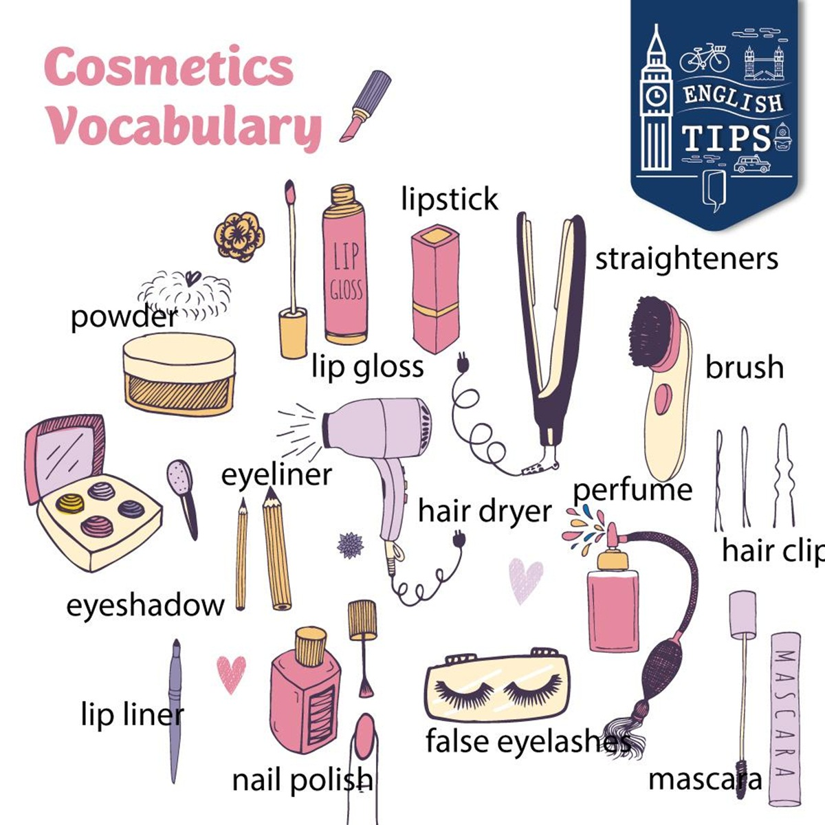 Vocabulary Cosmetics Amp Make Up