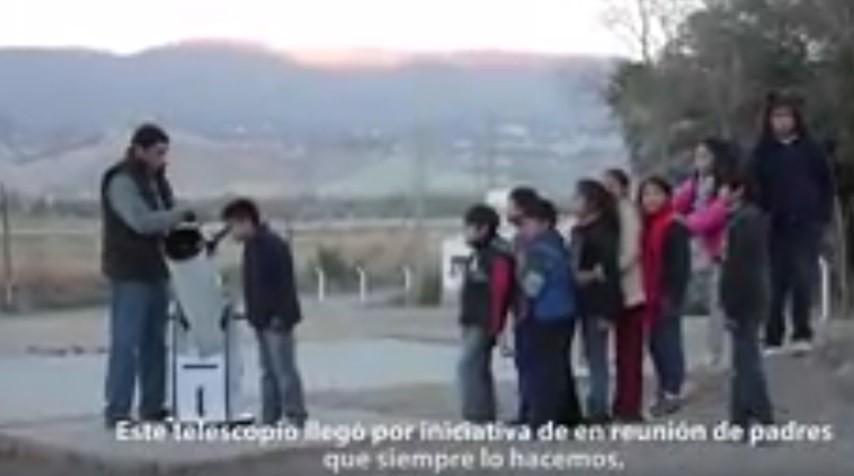 El Telescopio de la Escuela N° 220 de Chañar Punco, Catamarca