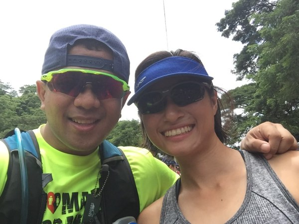 It was nice seeing Charlle who was also a part of the Eat and Run adventure in Bacolod. She finished third among females in the 12K distance.