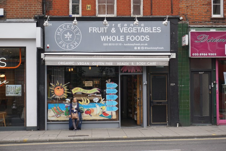 Hackney Fresh gluten free friendly supermarket in Hackney | gluten free Broadway Market guide