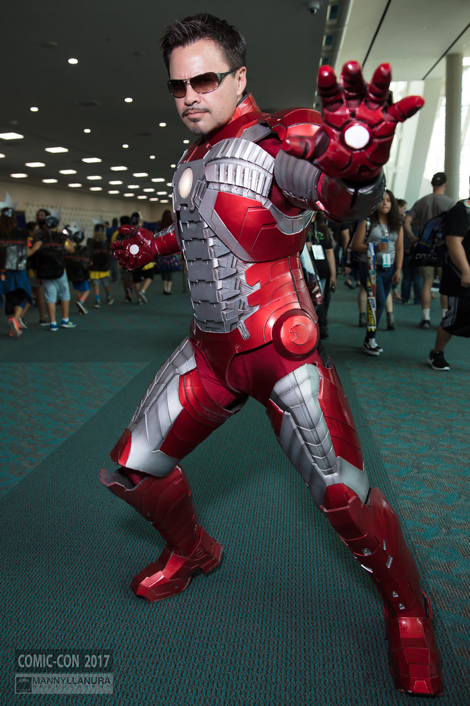 Comic Con 2017 Cosplay Iron Man Cosplay From Sdcc San