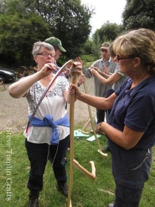 How to set up a scythe