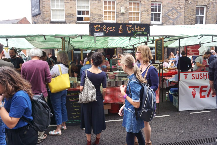 French Crepes & Galettes in Broadway Market | gluten free Broadway Market guide | Hackney, London
