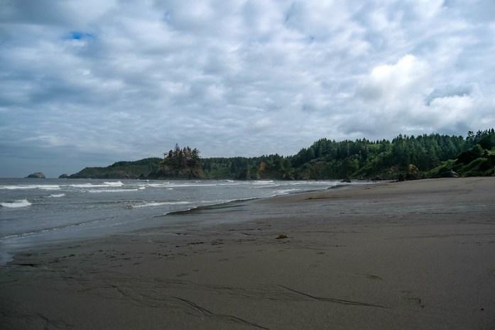 Trinidad Beach - California - caminar por la playa - paisaje costero