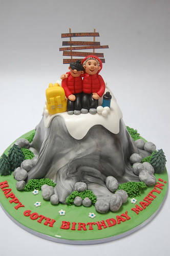 Kilimanjaro Climbing Cake Beautiful Birthday Cakes