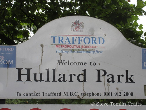 Scything at Hullard Park Manchester
