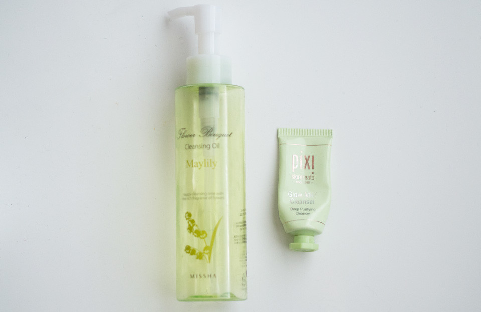 missha_flower_bouquet_maylily_pixi_glow_mud_cleanser