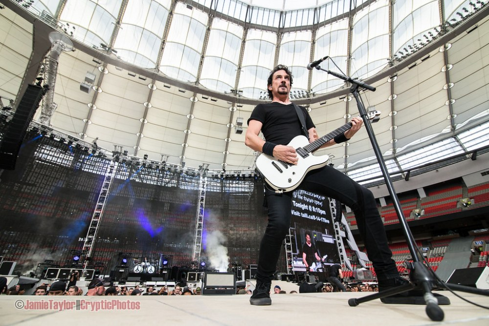 Gojira at BC Place in vancouver, BC on August 14 2017