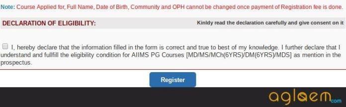 AIIMS PG Application Form 2018   AIIMS PG Application Form Correction 2018