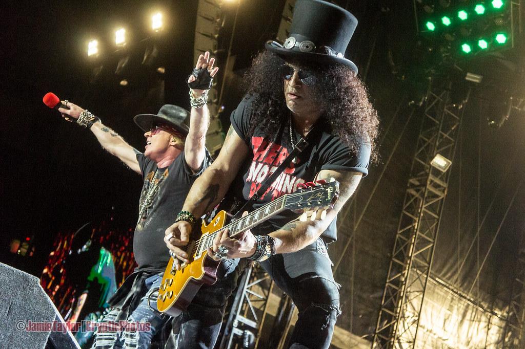 Axl Rose and Slash of Guns N Roses @ BC Place Stadium - September 1st 2017