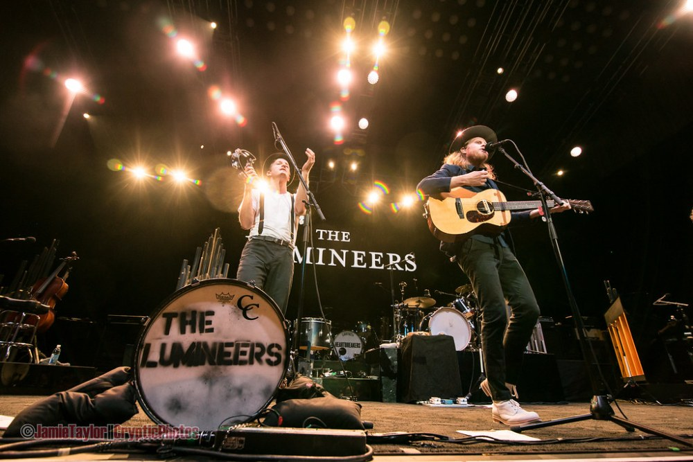 The Lumineers at Rogers Arena in Vancouver, BC on August 17th 2017