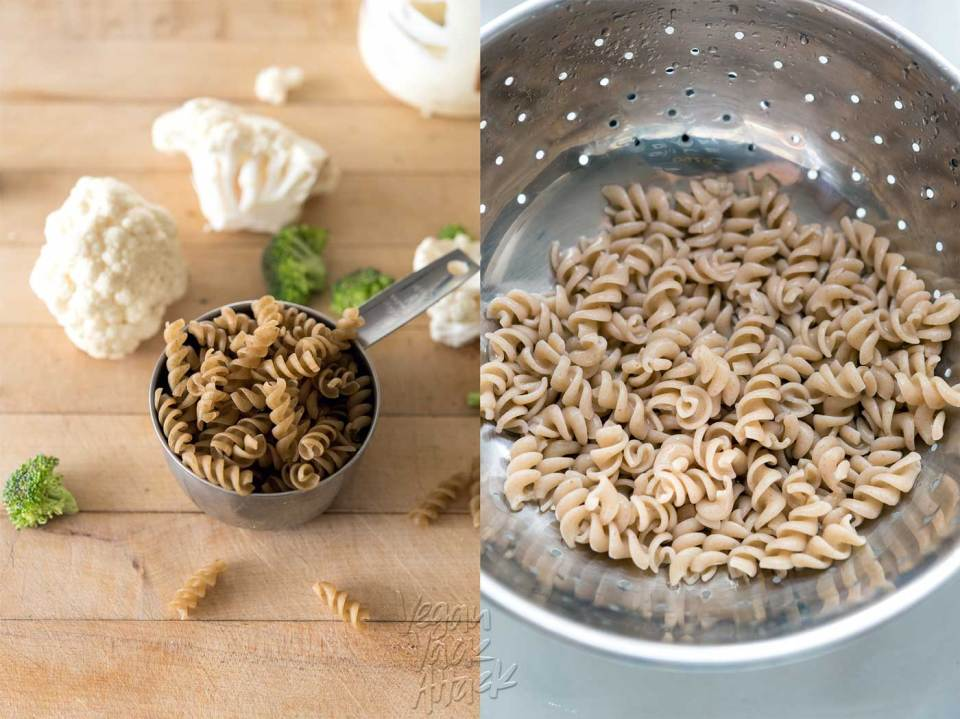Cooked Gluten-free Pasta