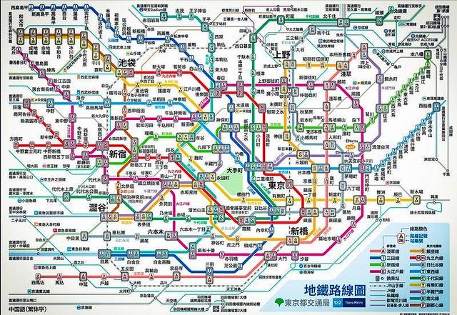 東京Metro官網