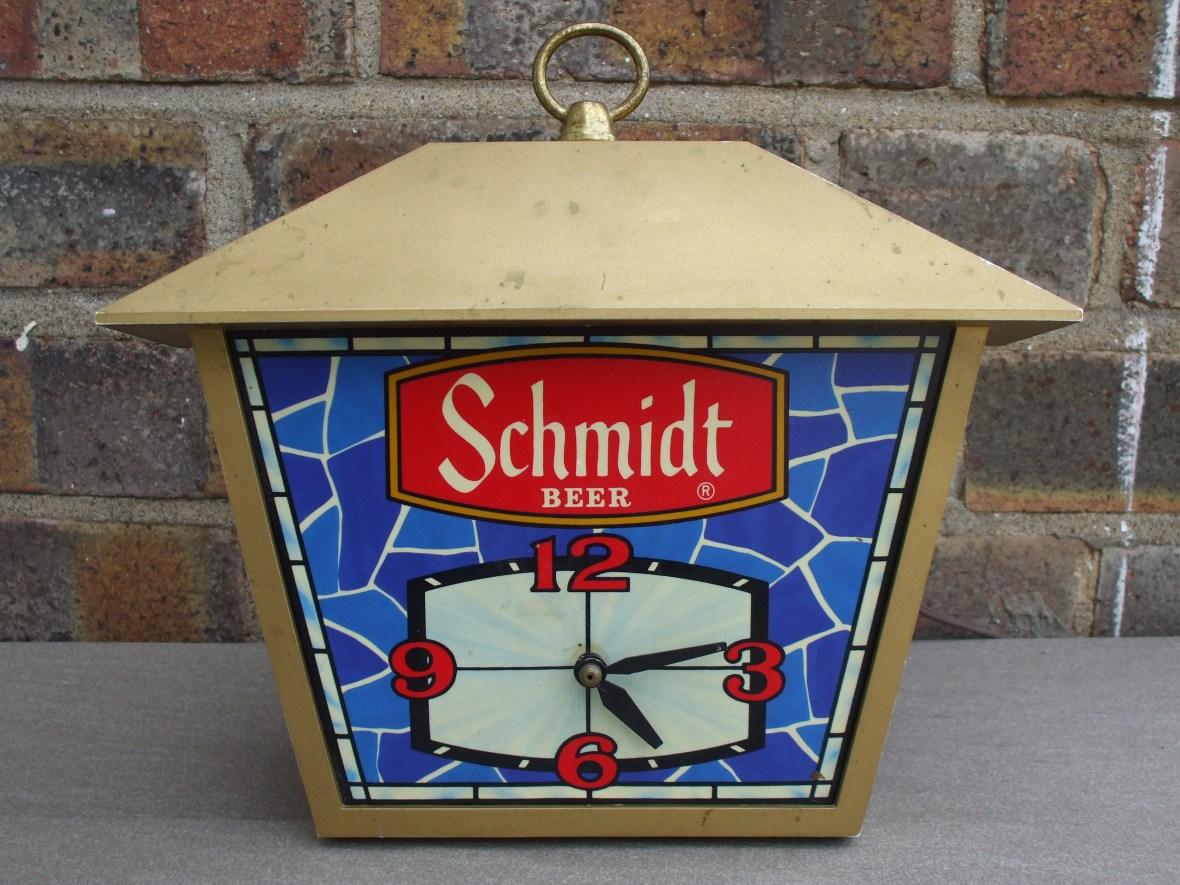 Schmidt Beer clock - era unknown