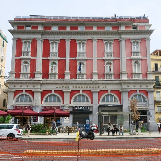 Red and Pink Hotel, Naples