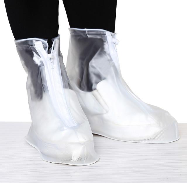 Bọc trùm giày đi mưa chống ngập có đế khóa kéo Cần Thơ