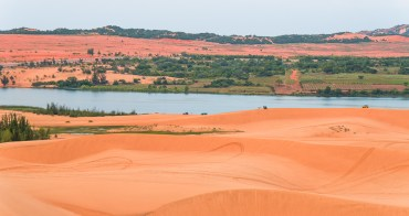 美奈自由行︱白沙丘-White Sand Dunes.賞日出、海邊沙灘奇妙景致