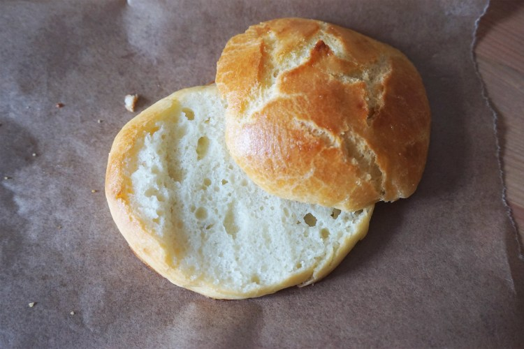 Gluten free brioche buns | burger buns | made with Doves Farm bread flour