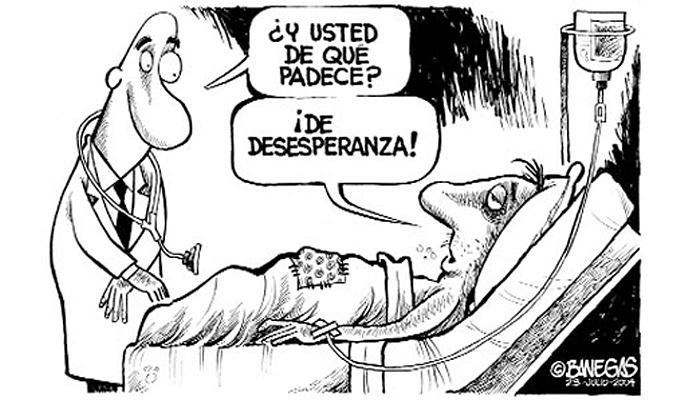 La desesperanza propia de la indefensión aprendida. | © Á. D. Banegas.
