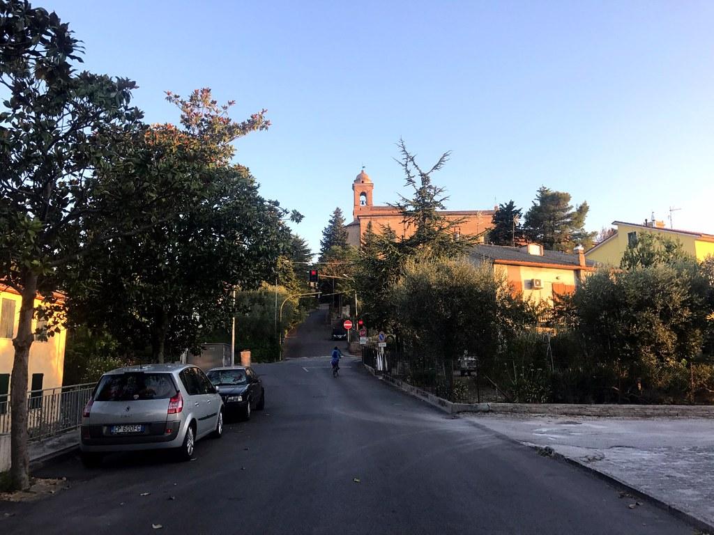 belvedere ostrense village in marche near ancona