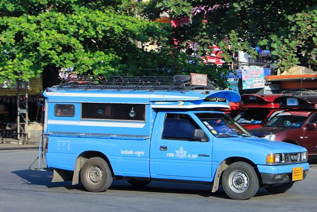 The Blue Songthaew