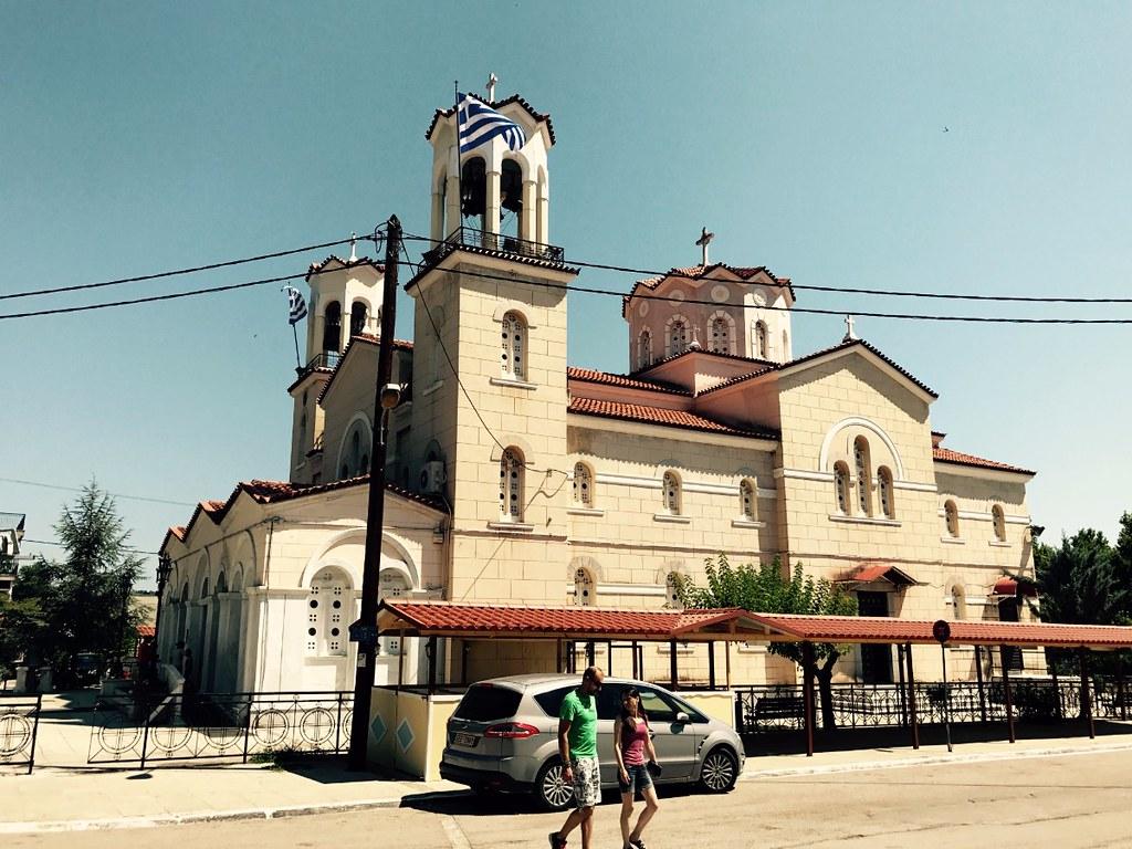 church of saint john the russian in prokopi euboea