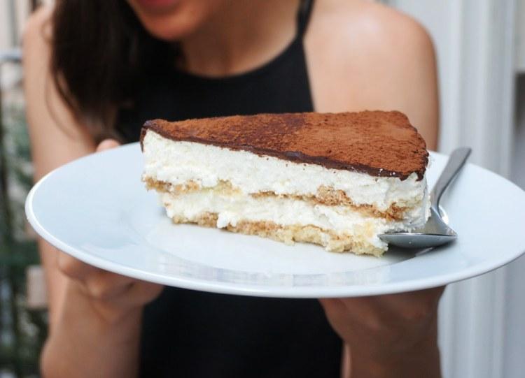 Gluten free tiramisu cake from Celiacruz | gluten free Valencia guide | gluten free Spain | Gluten free Travel