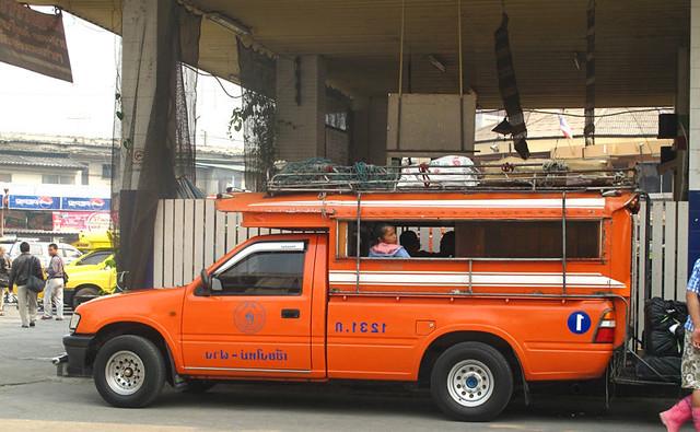 The Orange Songthaew
