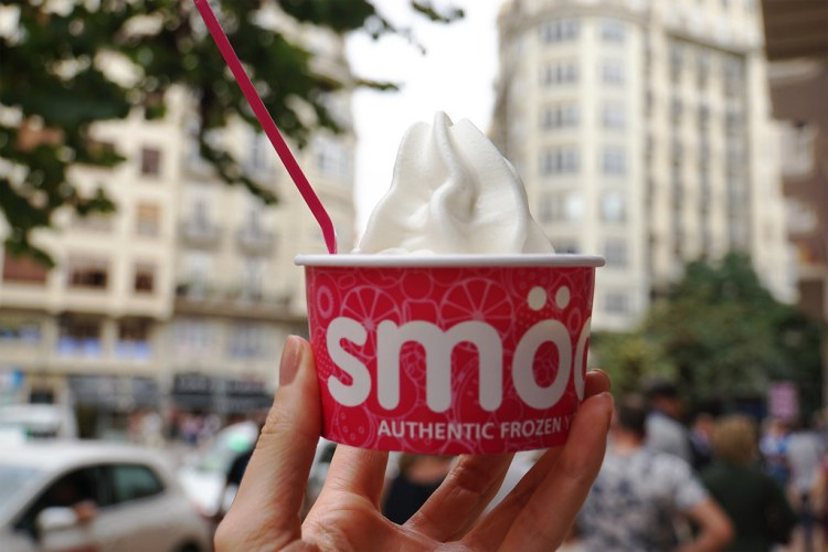 Gluten free frozen yoghurt from Smooy | gluten free Valencia guide | gluten free Spain | Gluten free Travel