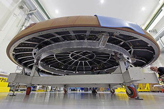 Orion Heat Shield Move   The Orion heat shield for ...
