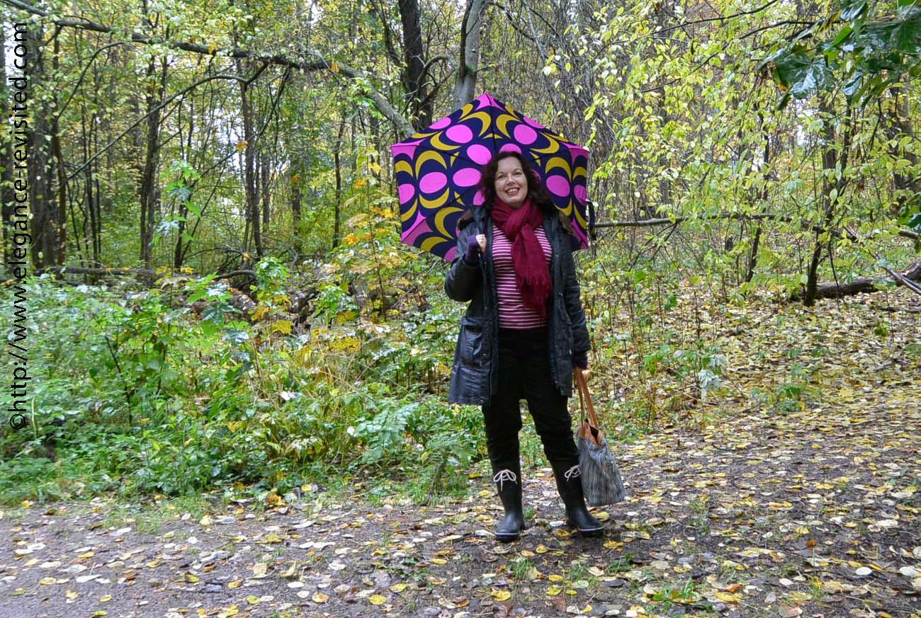 casual rain wear over 50