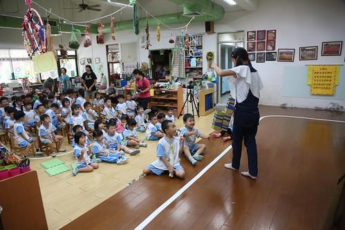 【Video】國中八年級回幼稚園:為學弟妹表演一場戲(13.1ys)