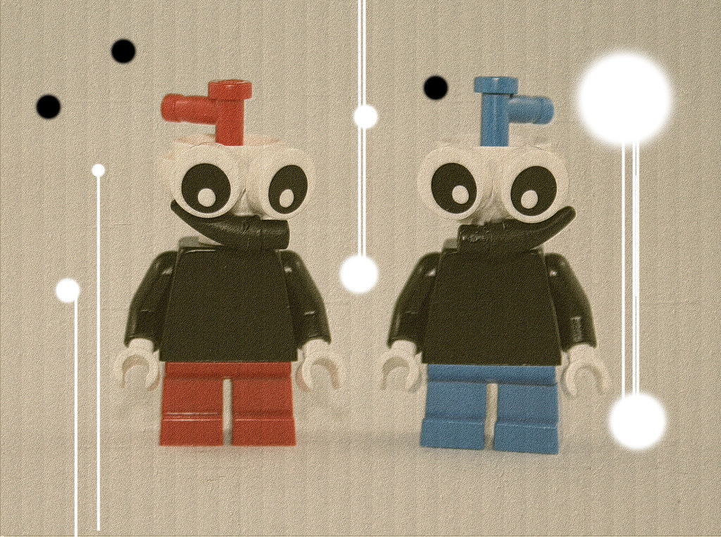 Lego Cuphead And Mugman See A Picture You Would Like To