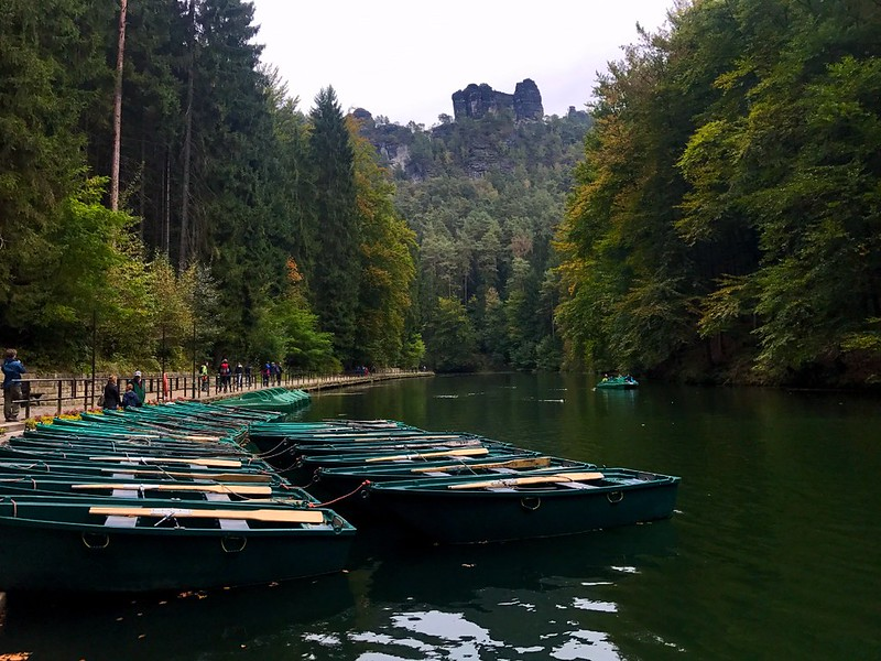 boats for rent in amselsee in bastei in saxon switzerland